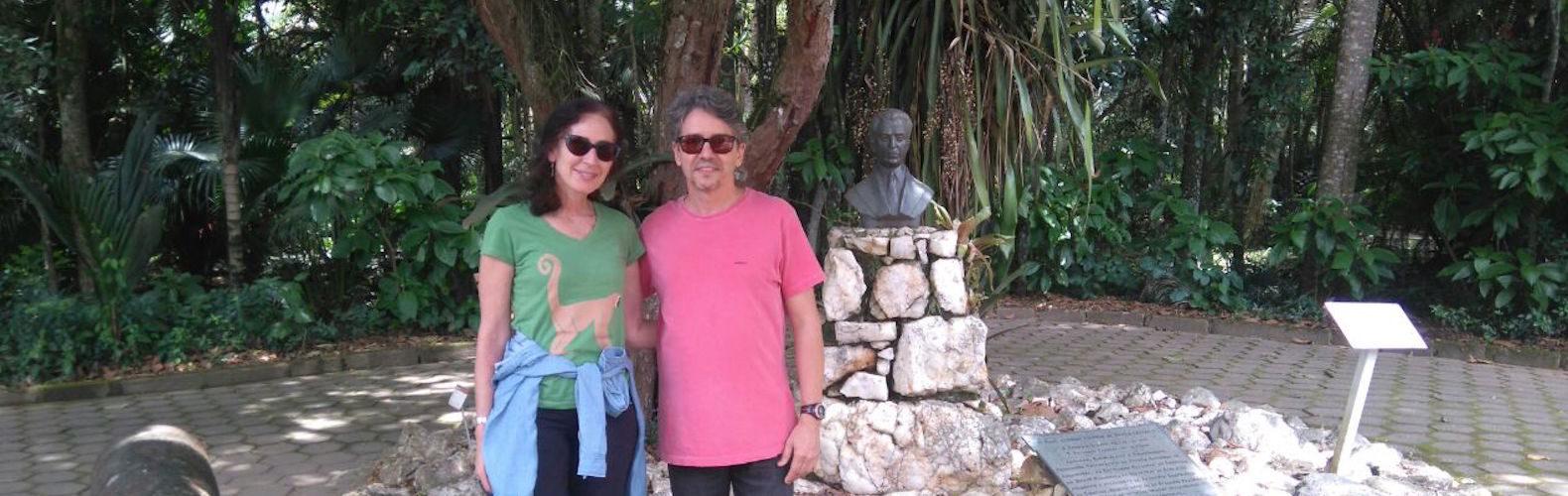Dr Strier and Dr Mendes in Brazil